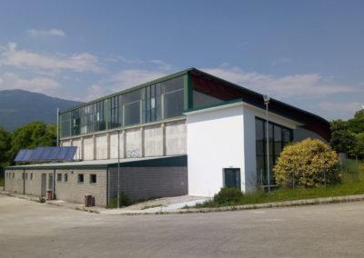 Ristrutturazione edilizia e funzionale del Palasport – Vajont (PN)