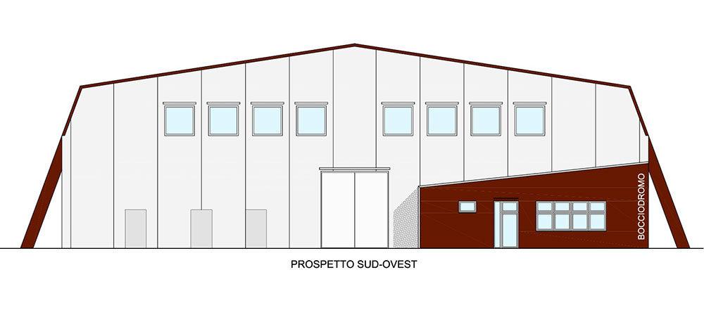 Adeguamento ed ampliamento bocciodromo comunale – Osoppo (UD)