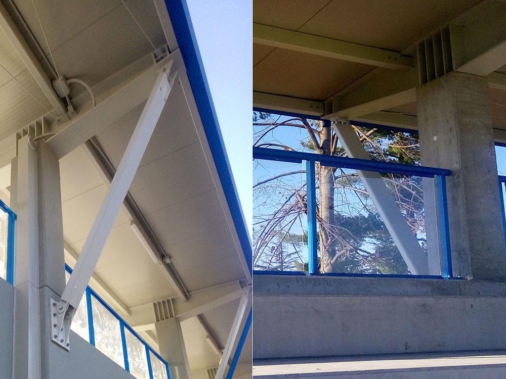Riqualificazione campo di calcio comunale, nuova tribuna – Premariacco (UD)