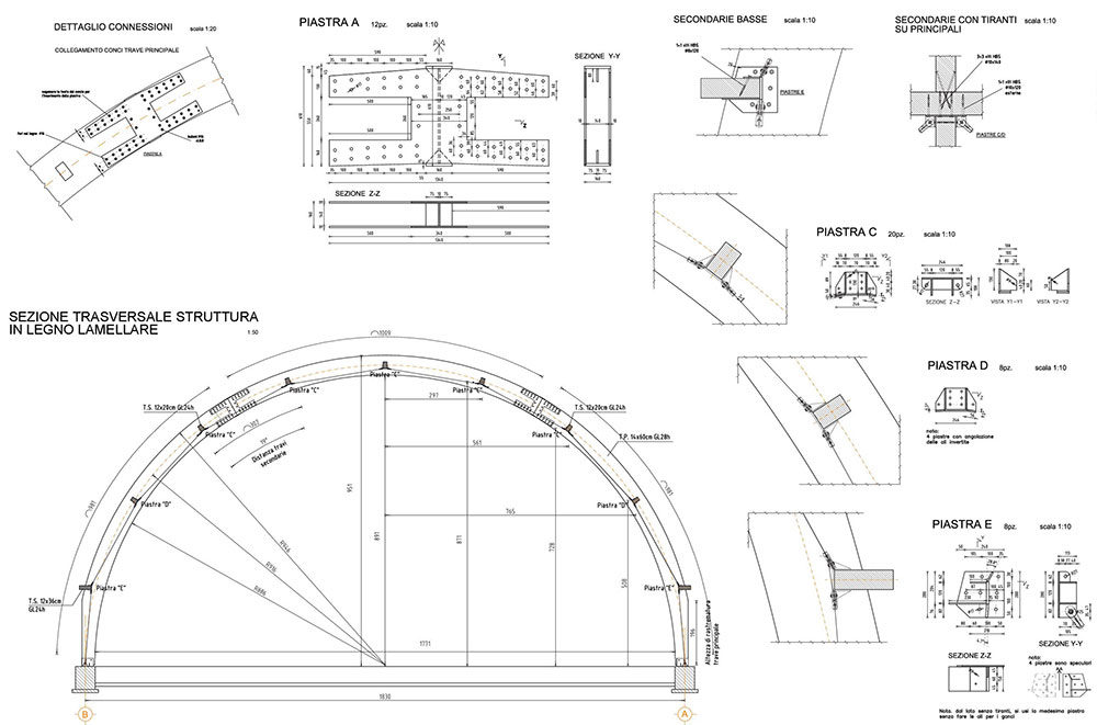 Nuovo campo da tennis coperto – Mortegliano (UD)