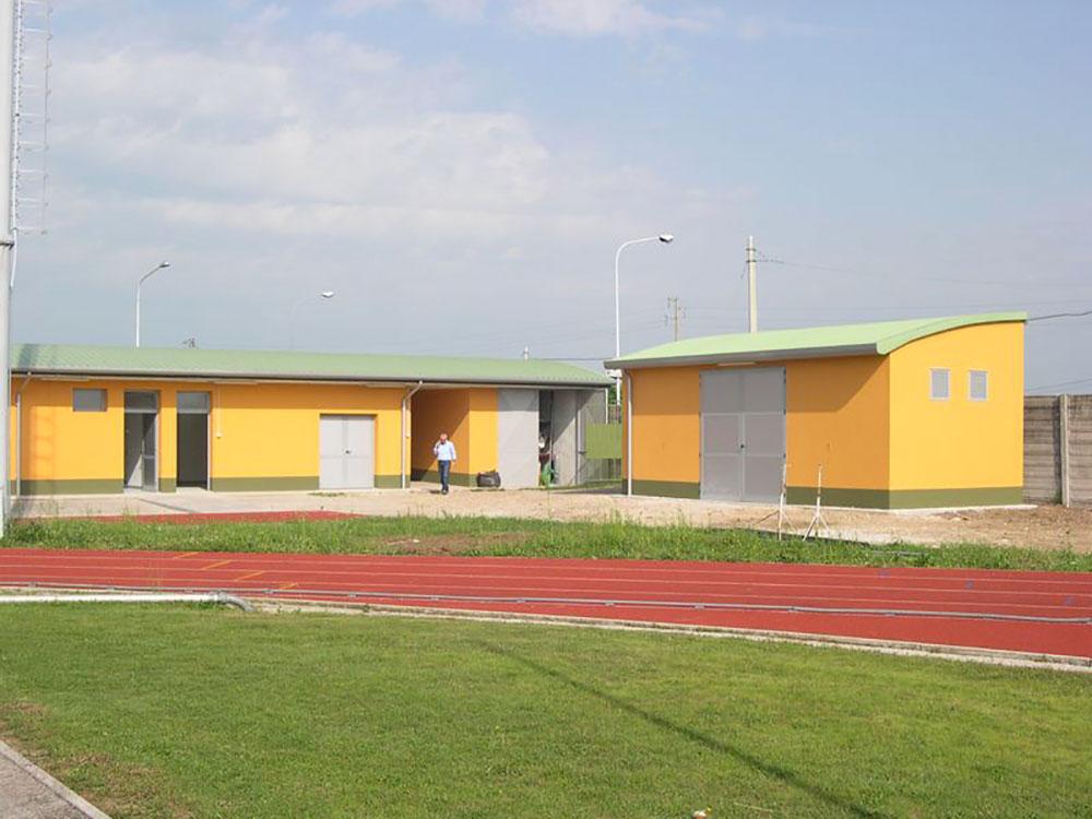 Miglioramento funzionale e ristrutturazione area sportiva Mereto di Tomba