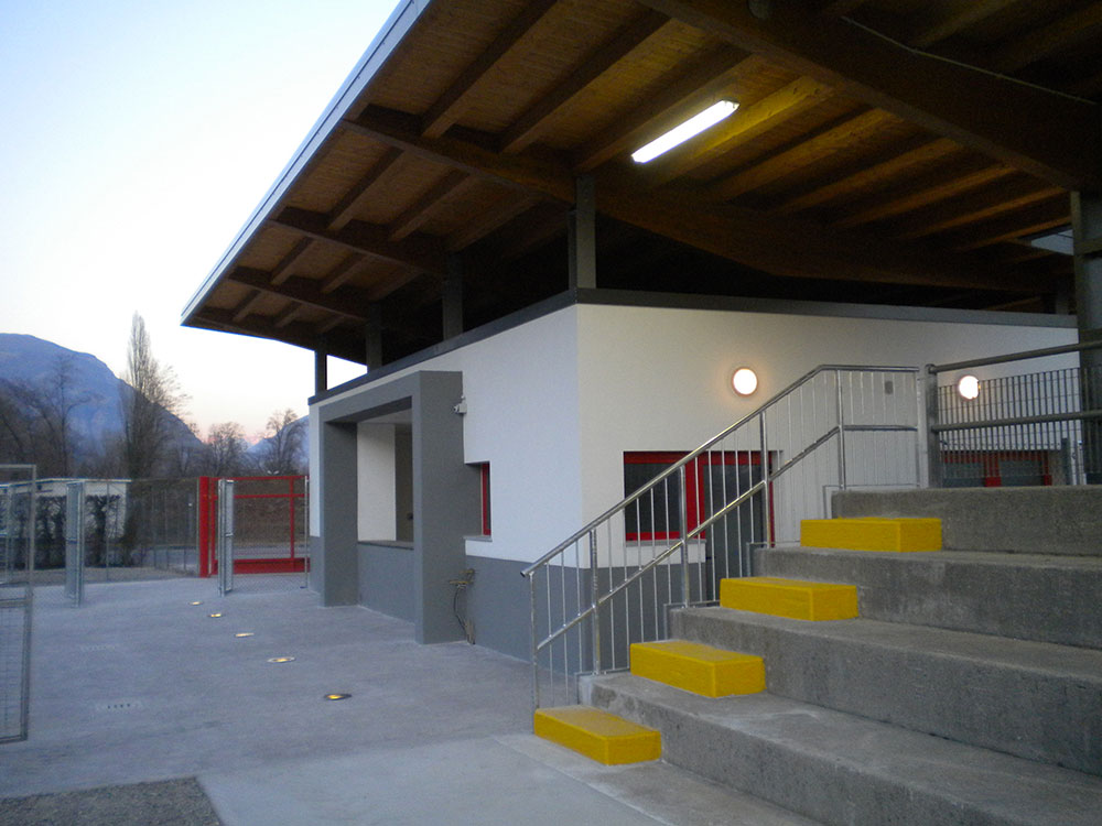 Ristrutturazione impianti sportivi via Forgiarini – Osoppo (UD)