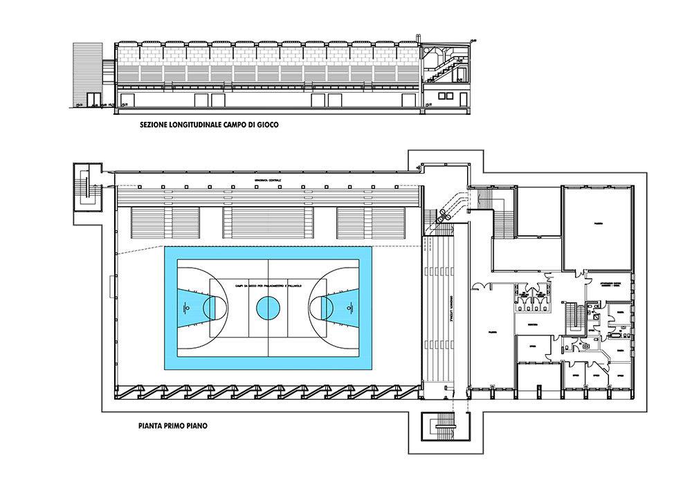Ristrutturazione e completamento PalaCUS – Udine