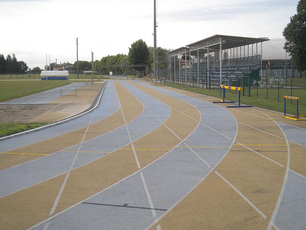 Manutenzione straordinaria pista di atletica – Brugnera (PN)
