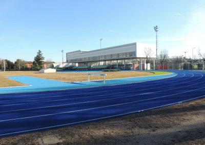 """Rifacimento pista di atletica campo """"Mario Agosti"""" – Pordenone"""