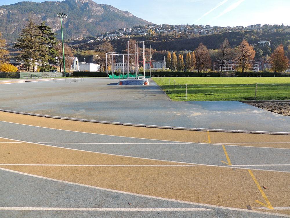 """Rifacimento pista di atletica Campo """"Covi e Postal"""" – Trento"""