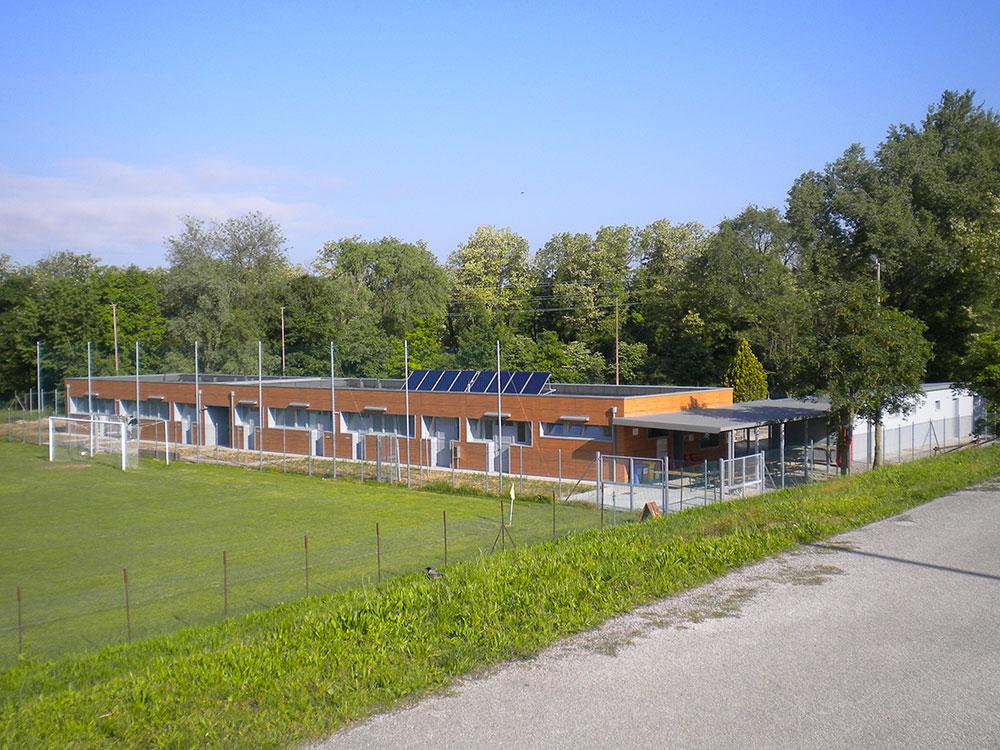 Ampliamento e riqualificazione impianto sportivo – Udine