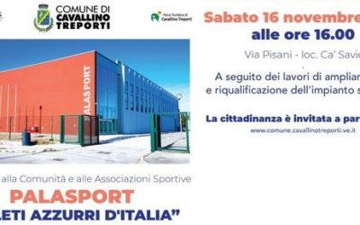 Ampliamento Palasport di Ca' Savio a Cavallino Treporti (VE)