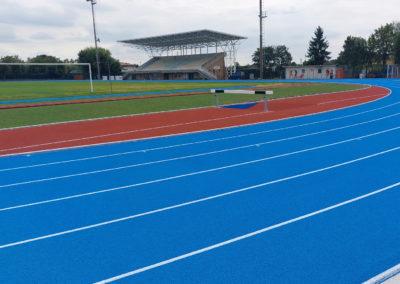 Rifacimento pista e pedane di atletica – San Vendemiano (TV)
