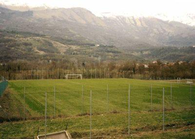 Campo di calcio con spogliatoi ed opere esterne – Aviano (PN)