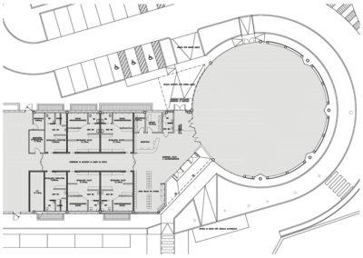 """Riqualificazione edificio """"ex-mercato"""" in centro sportivo integrato – Monfalcone (GO)"""