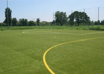 Nuovo campo di calcio d'allenamento in erba sintetica – San Pietro in Gu (PD)