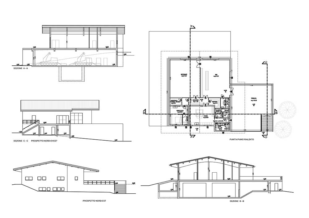 Ristrutturazione ex-stazione di valle Monte Canin - Sella ...