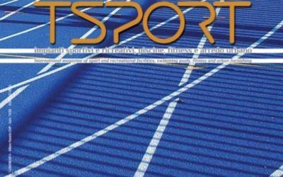 """Speciale atletica leggera  TSport n.321 Luglio 2018 – Impianto """"M.Agosti"""" Pordenone"""