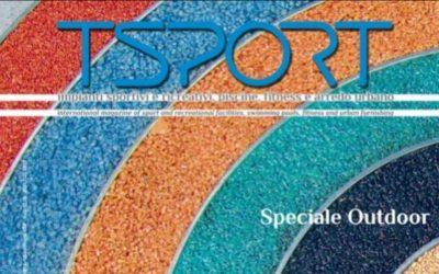 Speciale outdoor  TSport n.328 Settembre 2019 – Campo di calcio in erba sintetica Pagnacco