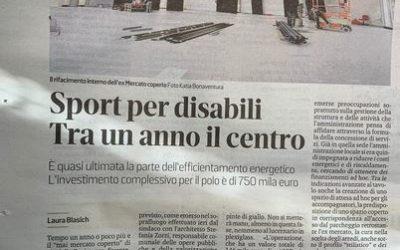 """""""Impianto sportivo integrato"""" per lo sport disabile a Monfalcone (GO)"""