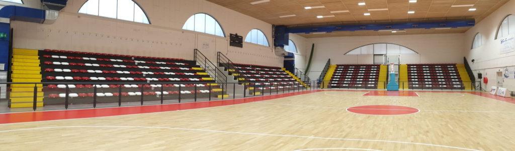 Nuove-tribune-Palasport-Monfalcone