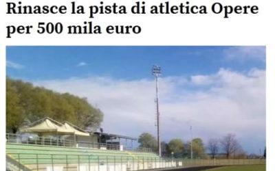 Ristrutturazione Palasport e rifacimento pista di atletica in Comune di Vajont