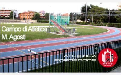 "Rifacimento pista e pedane impianto atletica leggera ""Mario Agosti"" a Pordenone"