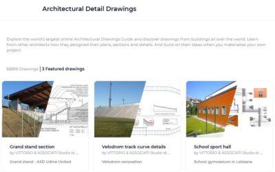 Archello: Architectural detail drawings – Agosto 2020