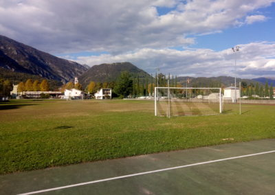 Realizzazione di un campo da calcio omologato in erba artificiale presso l'area sportiva – Maniago (PN)