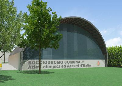 Riqualificazione bocciodromo comunale – Buttrio (UD)