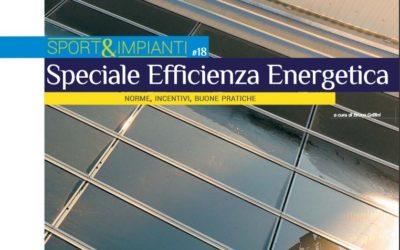 Speciale efficienza energetica  TSport n.336 Dicembre 2020 – Palestra scolastica Precenicco