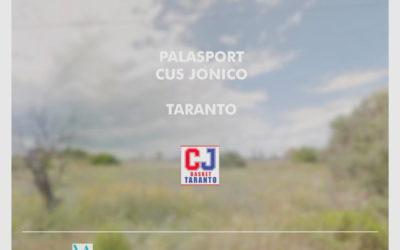 Presentazione nuovo Palasport CUS JONICO TARANTO – Marzo 2021