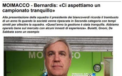 Riqualificazione impianti sportivi di via Dominissina a Moimacco