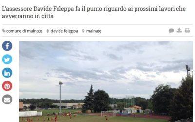 Riqualificazione Stadio comunale di via Gasparotto a Malnate