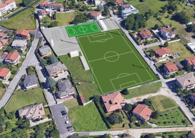"""Sistemazione campo di calcio """"Federale"""" di via Cormor – Udine"""