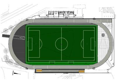 """Riqualificazione Stadio comunale """"L.Caccivio"""" – Malnate (VA)"""