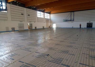 Rifacimento pavimentazione della palestra comunale – Grado (GO)